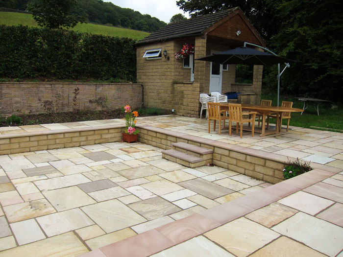 paving patios and driveways in Huddersfield