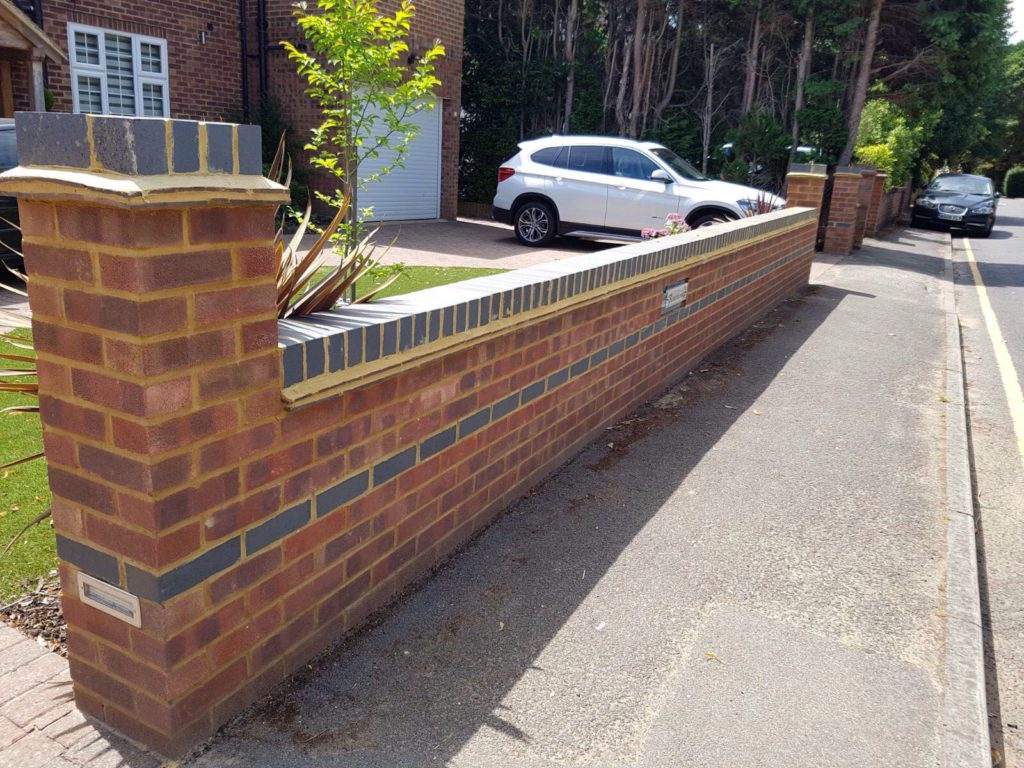 trusted service for building garden walls in sheffield