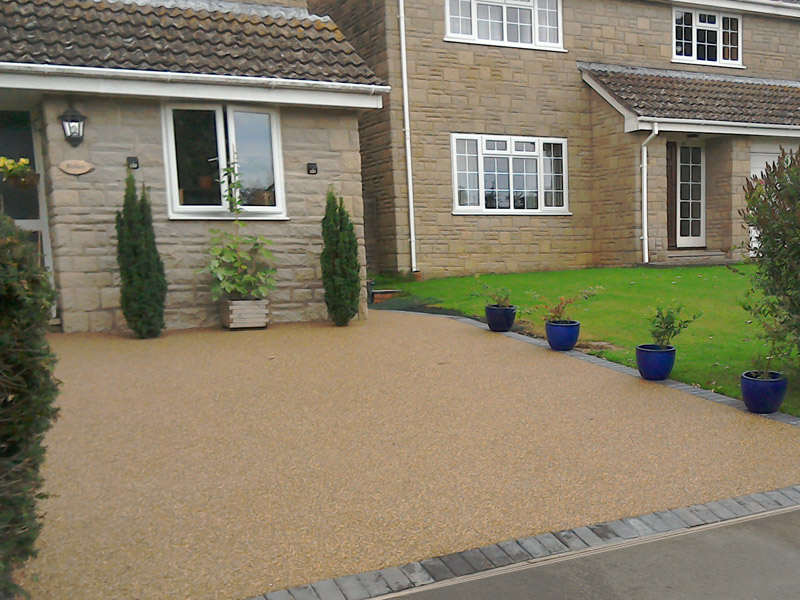resin surfacing installations for driveways and patios in sheffield